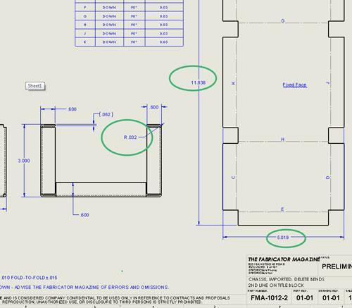 3 D Cad Handling Imported Data During Sheet Metal Design