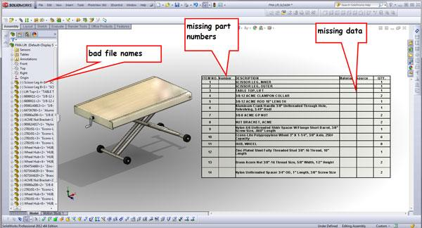 3-D CAD: Modeling with product documentation as the design intent
