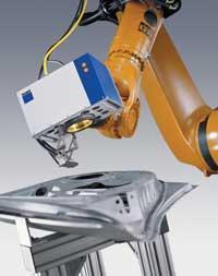 Laser welding component assemblies