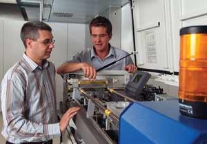 Laser welding operator