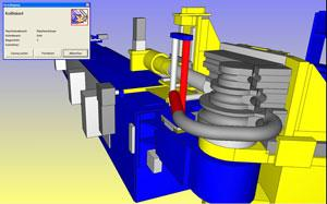 Simulación de flexión del tubo