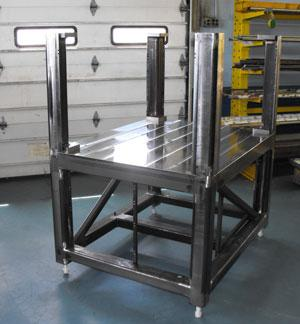 Baron Machine welded frame
