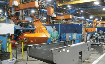 New Holland Robotic Welding