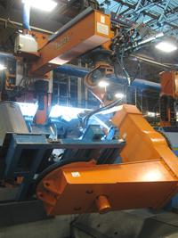 Robotic Welding Positioner Axes