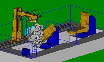 Robotic Welding Simulation