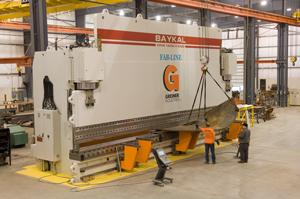 A Giant Among Machines The Fabricator