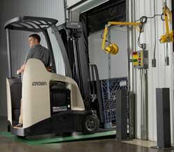 Fuel cell powered lift truck