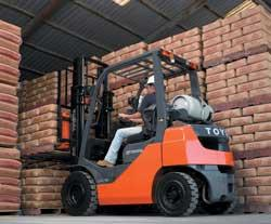 Toyota 8 series lift truck