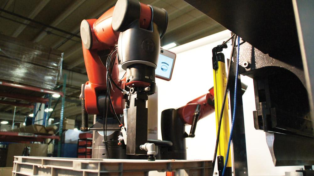 A New Way To Automate Sheet Metal Bending The Fabricator