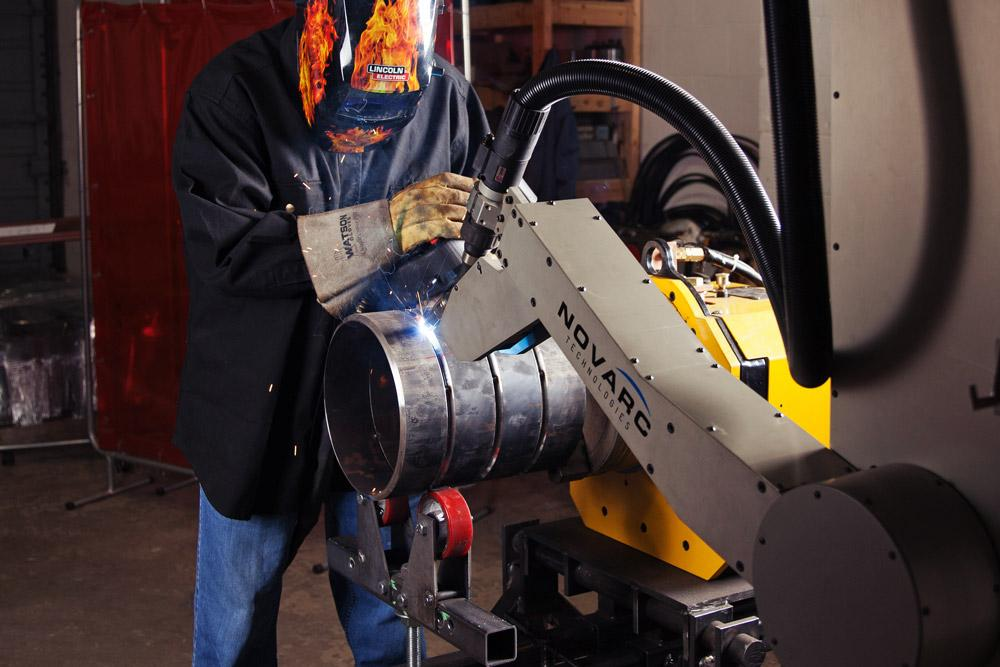 A Novel Approach To Pipe Welding Automation The Fabricator
