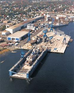 BIW's Land Level Transfer Facility