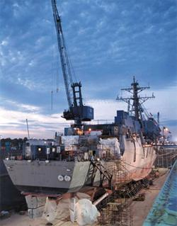 Navy destroyer Mason