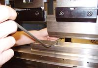 press brake work procedure