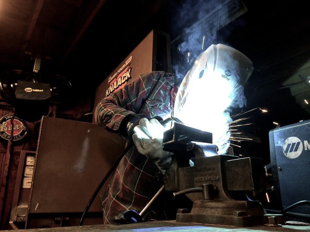 A Welder S Hands And Eyes The Fabricator