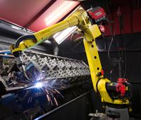 A welding robot--on the move - TheFabricator.com