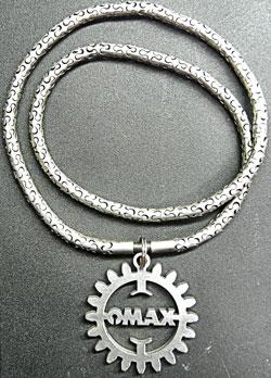 Titanium Link Necklace