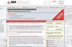 AIDA-America launches new Web site - TheFabricator.com