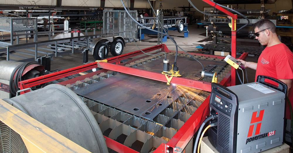 Armando un sistema de corte con plasma - The Fabricator