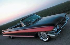 Cad Attack, a 1962 Cadillac convertible