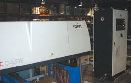 Nu-Way laser and control