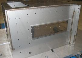 Stainless steel microwave enclosure