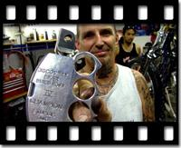 """Indian Larry, """"Biker Build-Off,"""" Discovery Channel; Photo courtesy of"""