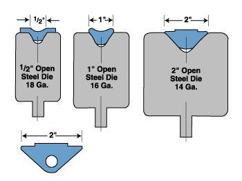 Urethane Tooling For Radius Bending On Press Brakes