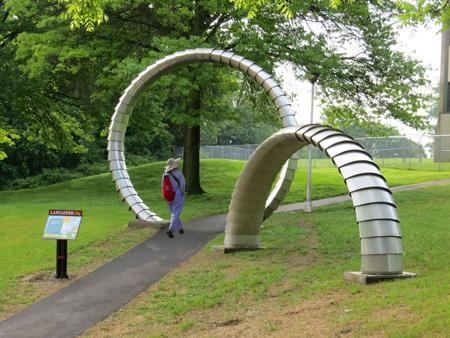 Attractive sculptures, day or night - TheFabricator.com
