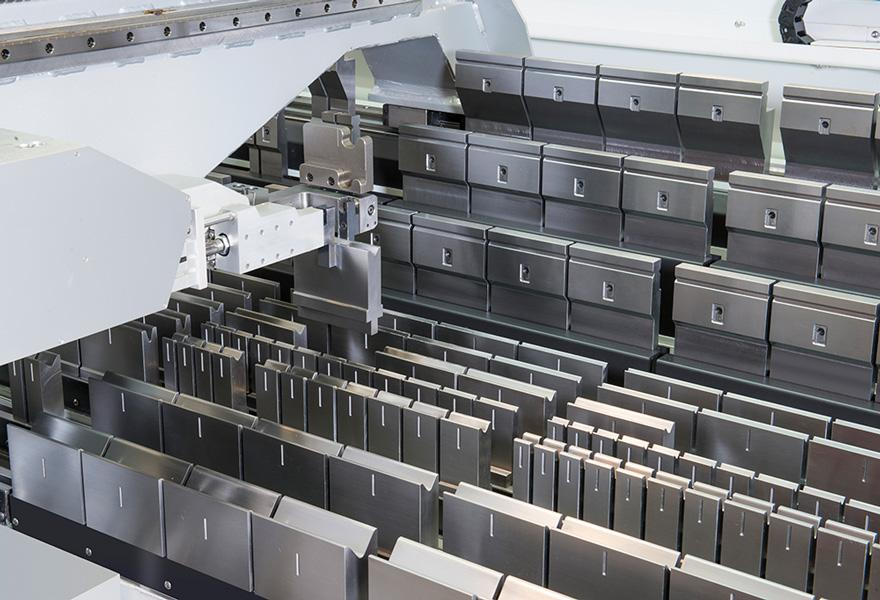 Automated Tooling Setup For Press Brakes