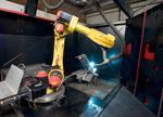 Robotic Welding Downhill