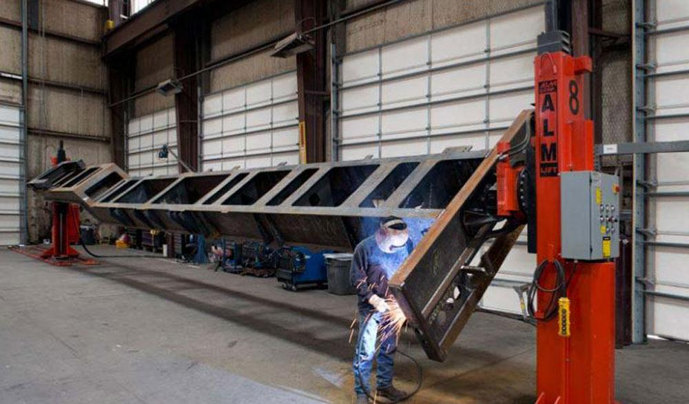 Welding Positioners Increase Throughput While Improving