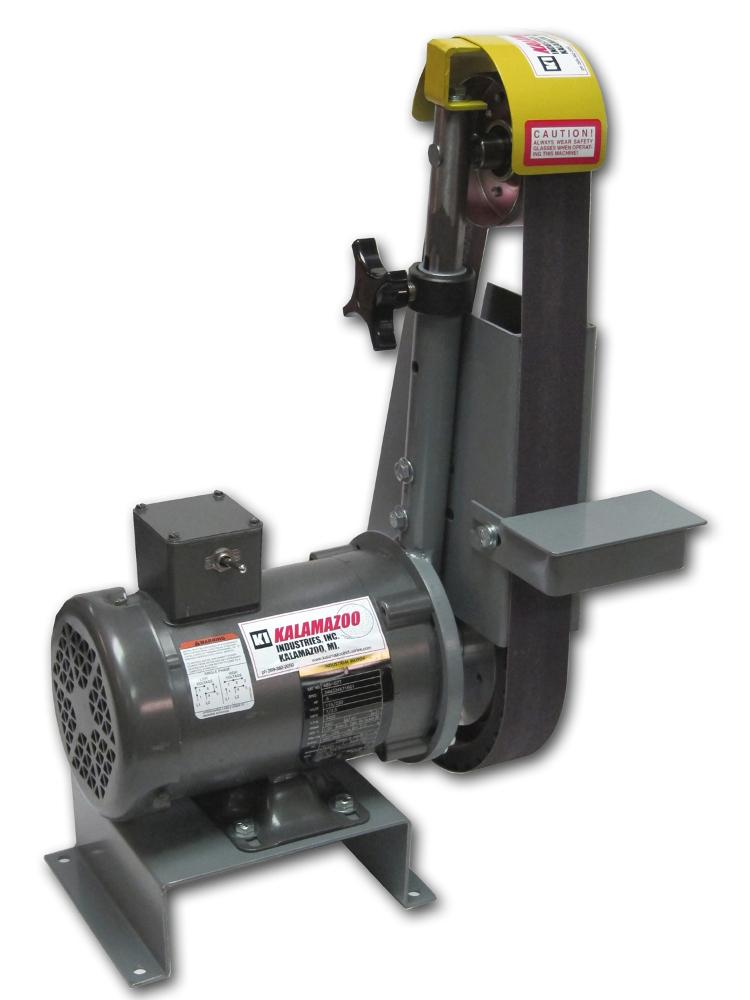 Welding Platen Table Backstand-style belt grinder offers multiposition contact - The ...