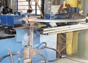 steel bending by induction