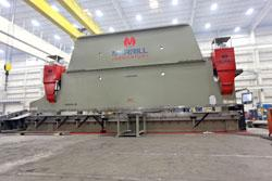Big bending jobs lead to high-tonnage press brake - TheFabricator.com