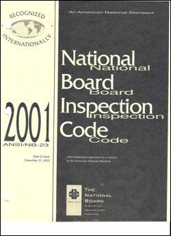 National Board of Pressure Vessel Inspectors