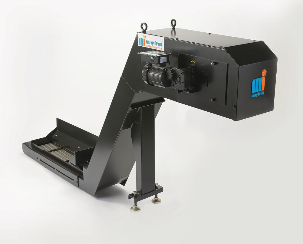 Chip Conveyor Integrates Coolant Cleaning Technology The