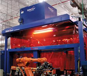 Ventilation welding cell