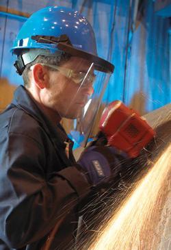 Coated abrasive fiber disc safety