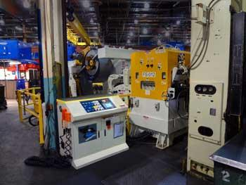 Coe Press Equipment Coil line