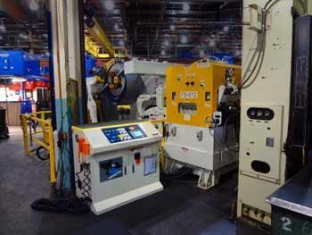 Coe Press Equipment Coil line