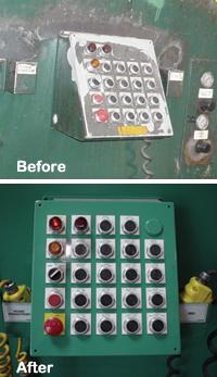Coil processing equipment controller upgrade