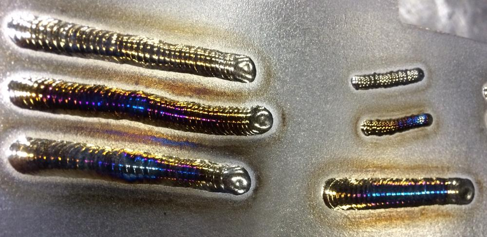 Colors In Welds And What They Mean The Fabricator