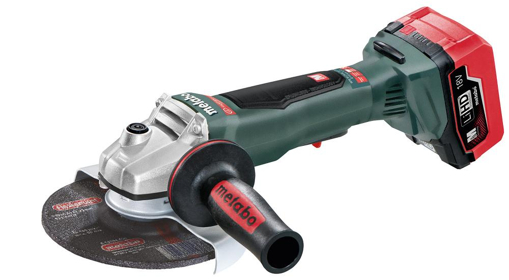 Battery Powered Grinder ~ Cordless in safety brake angle grinder powered by new