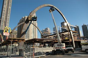 McDonald's 50th Anniversary Arches