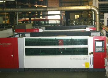 Mitsubishi laser cutting machine