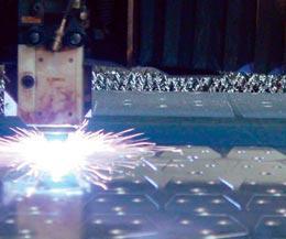 MPI laser cutting