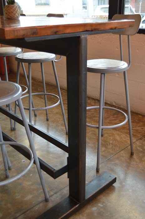 The Tables At Antique Taco, 1000 W. 35th St., Chicago, Were Designed And  Built By Metal Magic Interiors. Heavy Reliance On Square And Rectangular  Tubing Is ...