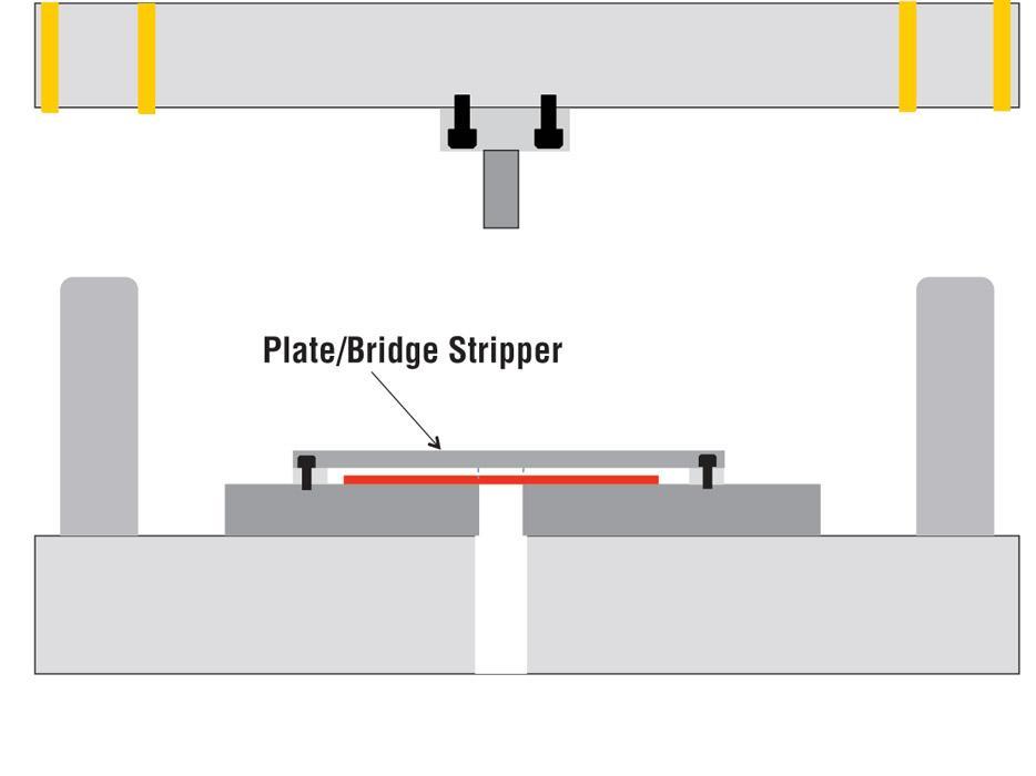 Die Science Choosing Between Pressure Pads And Stripper