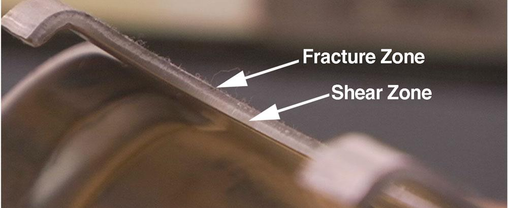 Die Science Splitting In A Stretch Flange The Fabricator