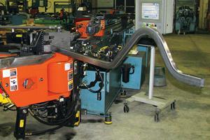 bending nonround tubing
